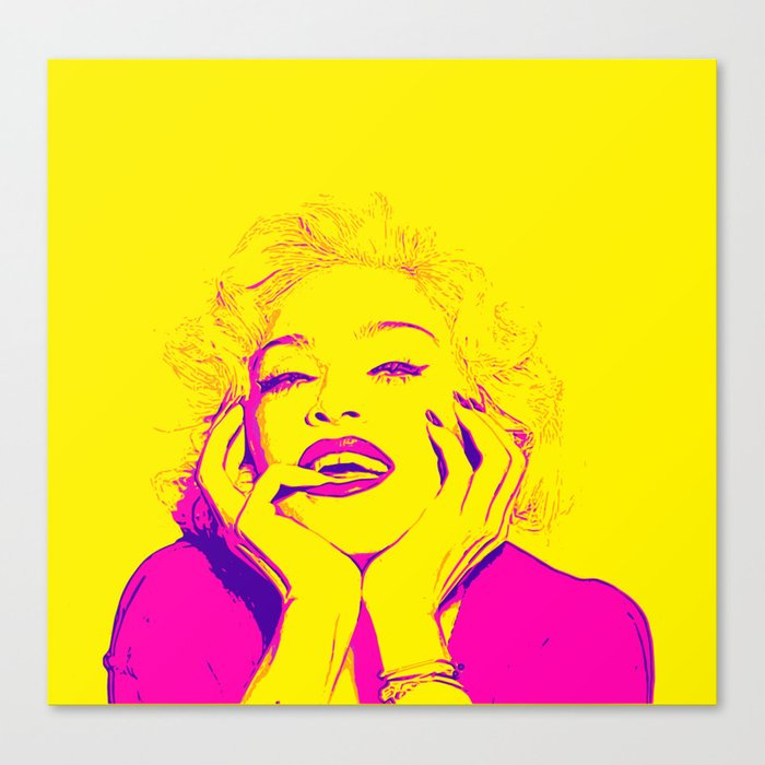 Bright Madonna Canvas Print