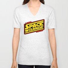LASER SWORD SPACE WIZARDS Unisex V-Neck