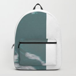 Wild and Free Waves in Rose Gold Backpack