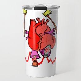 Heart Attack Travel Mug