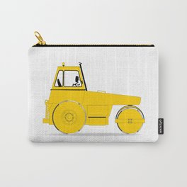 Modern Road Roller Carry-All Pouch