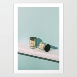 Tin Can Telephone Art Print