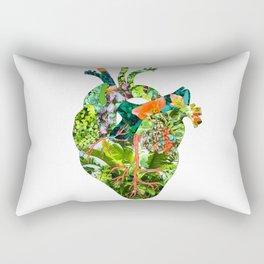Botanical Heart Rectangular Pillow
