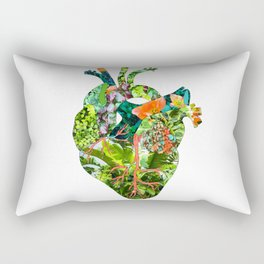 Botanical Heart Rectangular Pillow