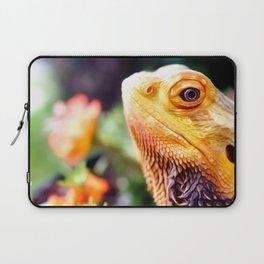 Bearded Dragon Art For Animal Lover Laptop Sleeve