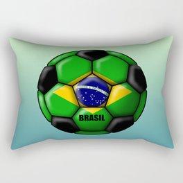 Brasil Ball Rectangular Pillow