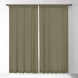 Martini Olive Pantone fashion color trend autumn fall Blackout Curtain