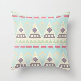 Triangularity Throw Pillow