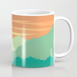 Mt Cheaha Sunset Coffee Mug