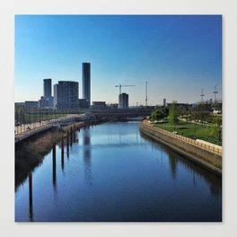 New City Canvas Print