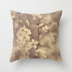 There was a Spring Throw Pillow
