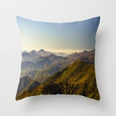 As far as the eye can see...  Throw Pillow