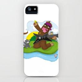 Bigfoot Rocks! iPhone Case