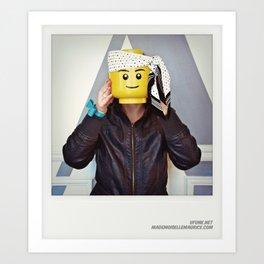Minifig me ! – Everyone has a LEGO piece inside - 7 Art Print