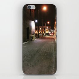 Downtown Alley iPhone Skin
