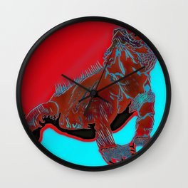 Goanna Wall Clock
