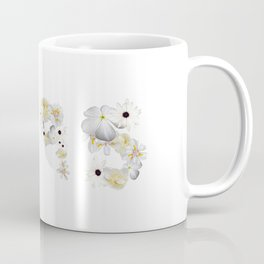 White Flower 1995 Coffee Mug