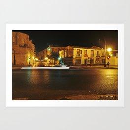 "GHOST Hour - Spain - ""VACANCY"" zine Art Print"