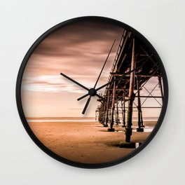 Puddle Striding Wall Clock