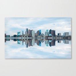 Boston reflection Canvas Print