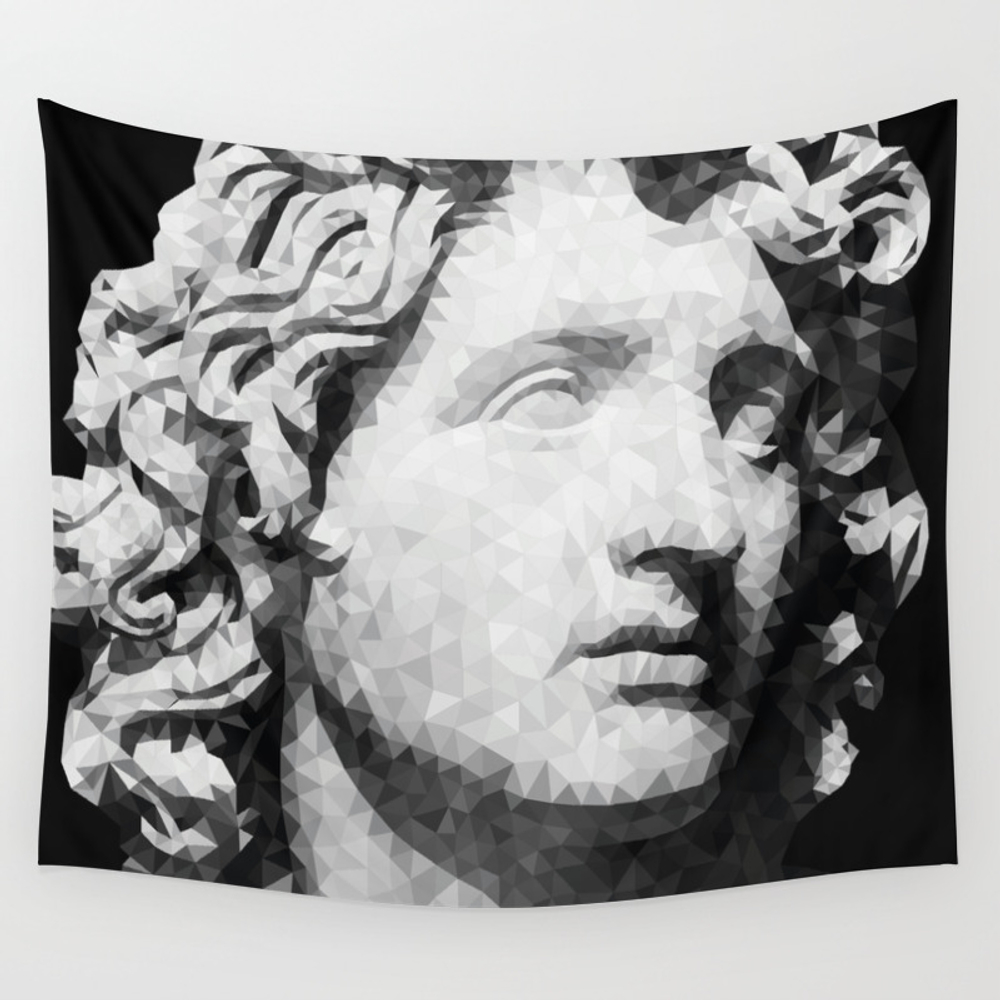 Historical Figures - Alexander The Great Wall Tapestry by Yianart TPS4554435