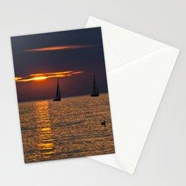 BALTIC SUNSET SOUND Stationery Cards