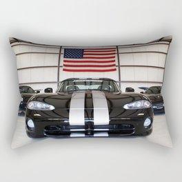 racing stripes Rectangular Pillow