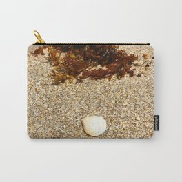Sea Shells Sea Weed by the Sea Shore Carry-All Pouch