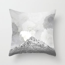 Rosie's mountain Throw Pillow