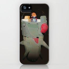 Space kiddo iPhone Case