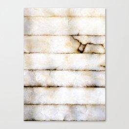 Weathered Alabaster Canvas Print
