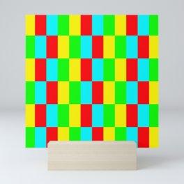 Color Bars - Multi  Mini Art Print