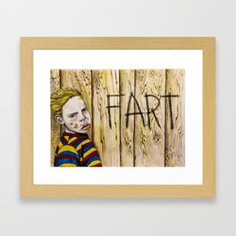 Bufort's A Sly One Framed Art Print