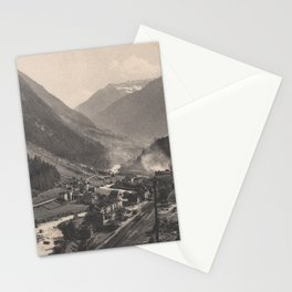 Old Swiss Mountain Litho Stationery Cards