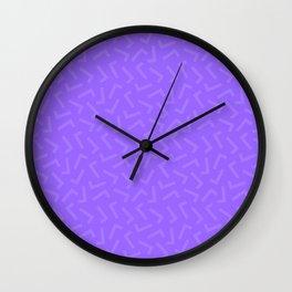 Check-ered Wall Clock