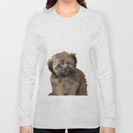 Cocoa, the puppy Long Sleeve T-shirt