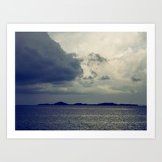 Clouds on the water... Art Print
