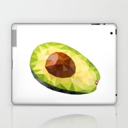 Low Polygon Avocado Laptop & iPad Skin