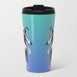 Basic Border Collie Travel Mug