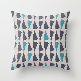 New Hampshire (Lakeside) Throw Pillow