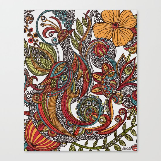 Feather Heaven Canvas Print