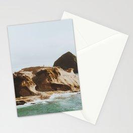 A Couple at Cape Kiwanda Stationery Cards
