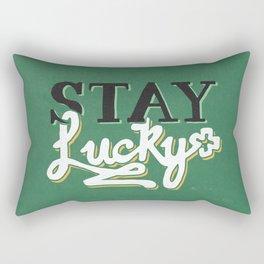 Stay Lucky Rectangular Pillow