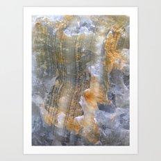 onix mineral Art Print