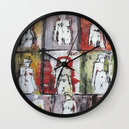 Something Going Wall Clock