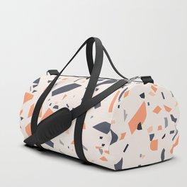 Terrazzo Orange Duffle Bag