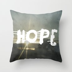 hope street Throw Pillow