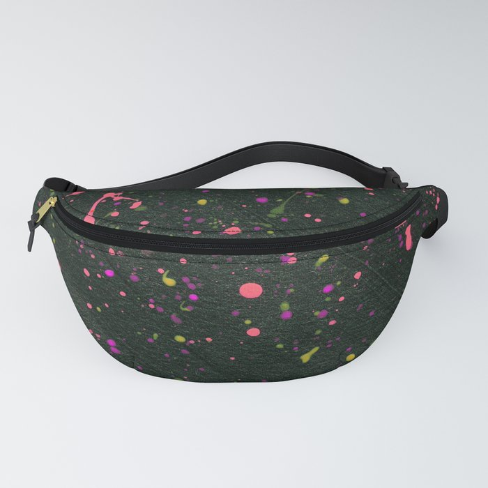 Blacklight Party Splatter Painting Fanny Pack by ...