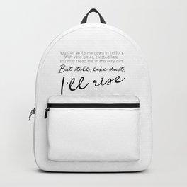 I'll rise #minimalism Backpack