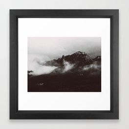 MOUNTAINSIDE Framed Art Print
